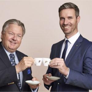 Harald J. Mayer gibt die Geschäftsführung bei Eduscho ab. Sein Nachfolger im österreichischen Tochterunternehmen von Tchibo wird Erik Hofstädter.