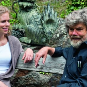 Magdalena Messner und ihr Vaters Reinhold.