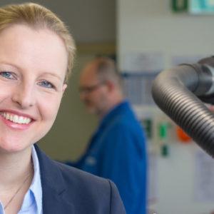 Keine Anlaufphase, keine Trennung der Ressorts – bei ihrem Einstieg ins Unternehmen erwartete Alexandra Altmann klare Verhältnisse. Foto: Altmann GmbH