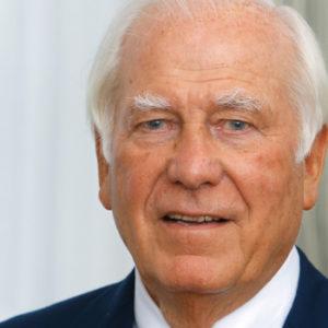 Preisgekrönter Stifter: Carlo Giersch ist unter anderem Ehrensenator der Technischen Universität Darmstadt und erhielt im Jahr 2010 das Bundesverdienstkreuz. Foto: Stiftung Giersch