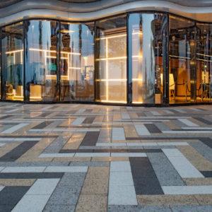 Unternehmen am Boden: Das Produkt von Metten Stein+Design im Amsterdamer Viertel Houthavens.