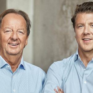 Es durfte nur einer bei Hasenkamp sein: Thomas Schneider (rechts) folgte auf seinen Vater Hans-Ewald Schneider.
