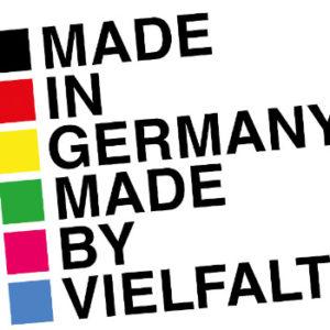 """Zunächst zögerlich, dann couragiert: 50 Familienunternehmen schlossen sich der Kampagne """"Made in Germany – Made by Vielfalt"""" an. Foto: Vorwerk"""