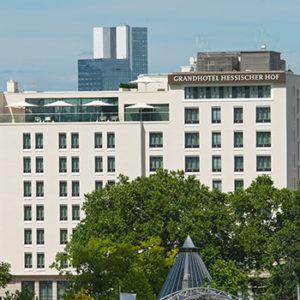 Ebenfalls Teil der der Hessischen Hausstiftung: das Grandhotel Hessischer Hof in Frankfurt am Main.