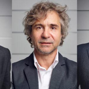 Richard, Philippe und Jan Nikolas Grohe (v.l.) sind in verschiedenen Rollen in der Familienstrategie involviert.