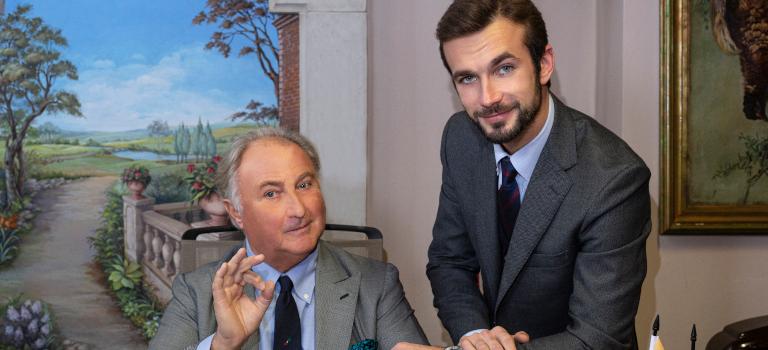 Vom Museumsführer zum CEO: Ferruccio Lamborghini löste seinen Vater ab, nachdem er im familieneigenen Museum gearbeitet hatte.