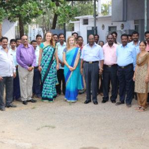 Wasser bedeutet Leben: Die Huber Technology Stiftung möchte Menschen auf der ganzen Welt für den richtigen Umgang mit Wasser sensibilisieren. Auch in der indischen Region Andhra Pradesh. Foto: Huber Technology Stiftung