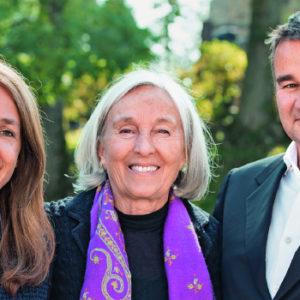 Bis 2017 gemeinsam an der Spitze der Pilz GmbH & Co. KG (v.l.): Susanne Kunschert, ihre Mutter Renate Pilz und ihr Bruder Thomas Pilz.