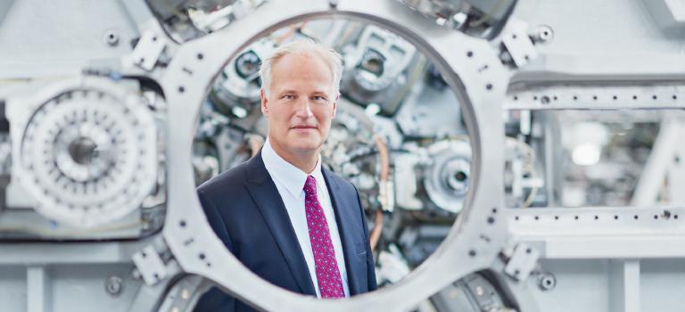 Engagiert sich seit Jahren für den Verband Deutscher Maschinen- und Anlagenbau: Carl Martin Welcker. Foto: VDMA