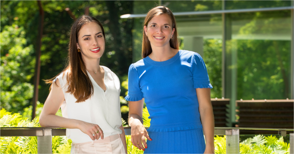 Zwei Chefinnen in spe: Valentine Barbier-Mueller (links) und Marie Barbier-Mueller werden bei der Schweizer Groupe SPG-Rytz die Unternehmensnachfolge antreten.