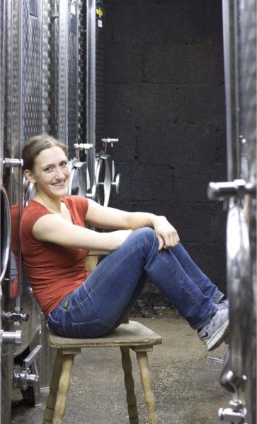 Übernahm das Weingut nach dem plötzlichen Tod des Vaters: Theresa Breuer.
