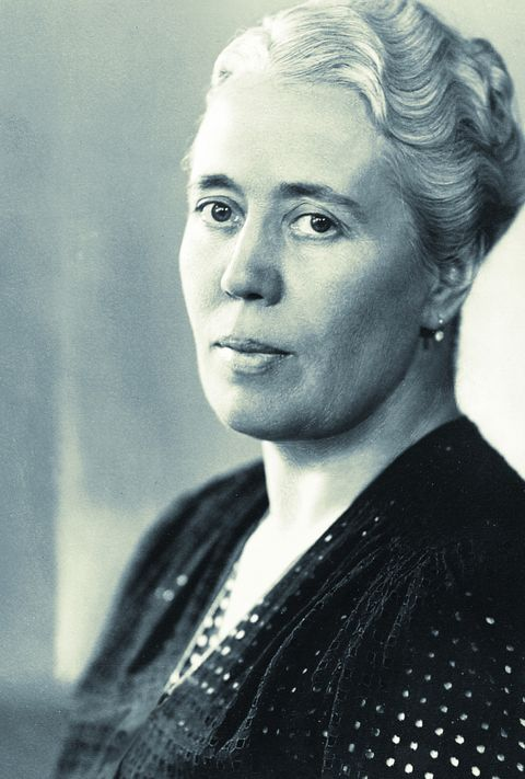 Käte Ahlmann erhielt 1960 das Große Bundesverdienstkreuz