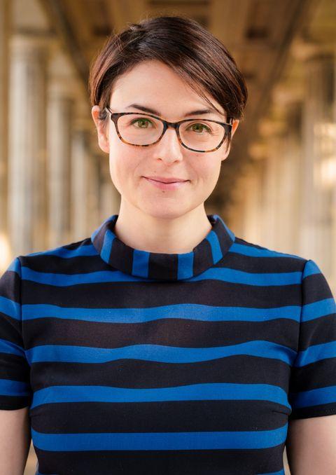 Pendelt in ihrer Rolle für das Bissell Family Office regelmäßig zwischen Neu-Dehli und Berlin: Angela De Giacomo.