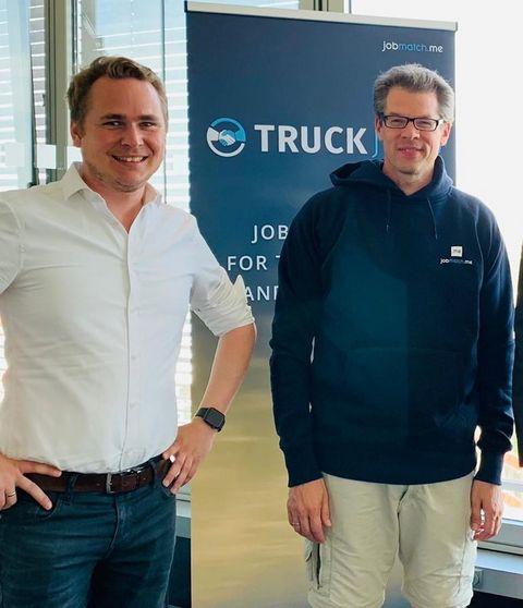 Wollen den Bewerbungsprozess revolutionieren: JobMatchMe CEO Daniel Stancke und CTO Gunnar Wrobel.