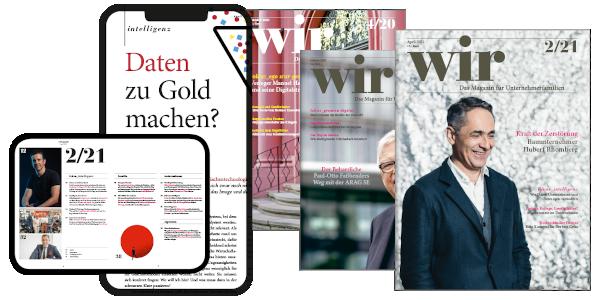wir-Magazin Digital & Print