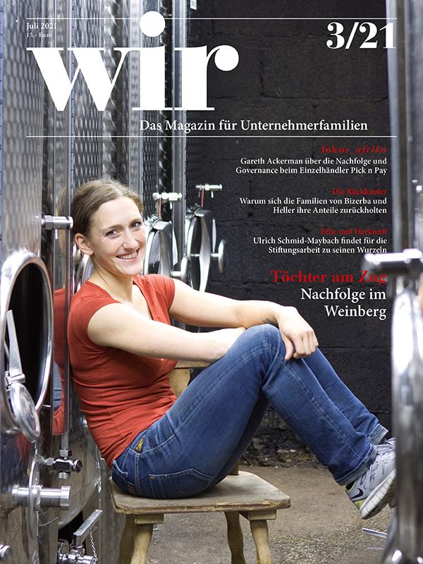 wir - Das Magazin für Unternehmerfamilien / aktuelle Ausgabe